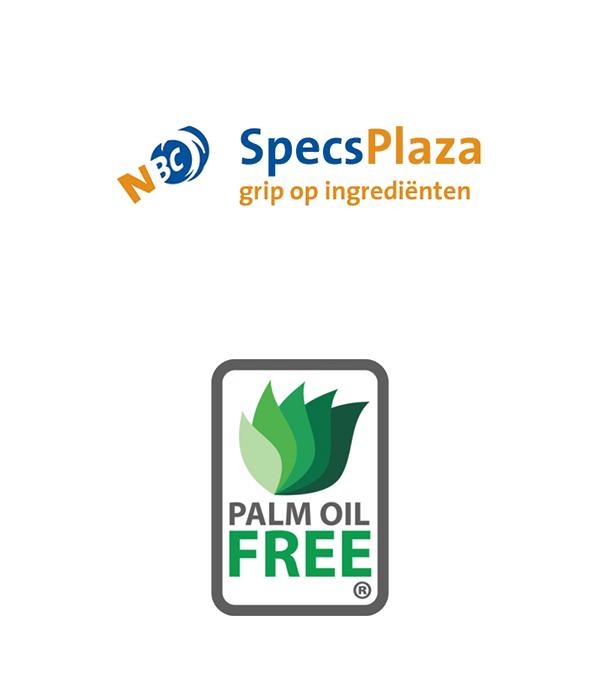 Palm Oil Free en Specplaza logo